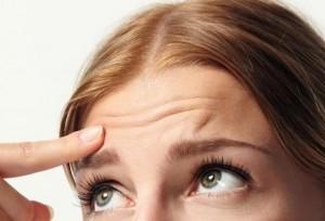 коррекция мимических морщин на лбу ботоксом | Healthface